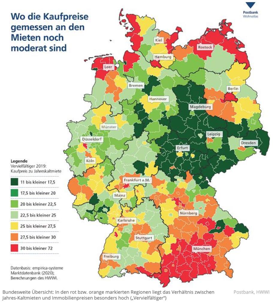 Immobilienpreise Leipzig und Umland